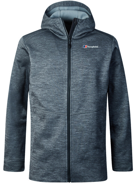 Berghaus Kamloops Hooded Fleece Jacket Men Carbon Marl